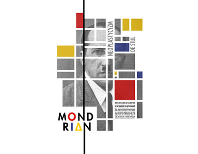 Poster about Mondrian. 2016