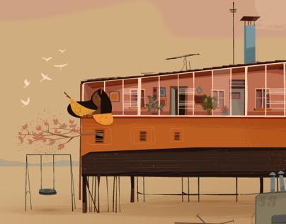 Ilustración para Proyecto colaborativo by HelouStudio