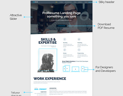 ProResume Awesome Website