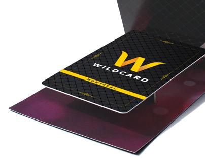 Wildcard pop-up card