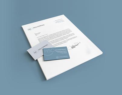 Brand design // Holyspring Consulting