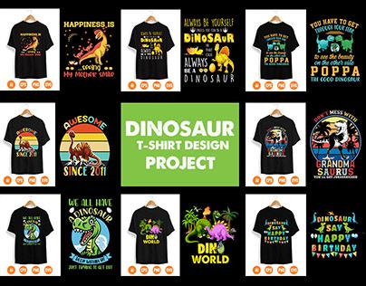 Dinosaur T-Shirt Design Project