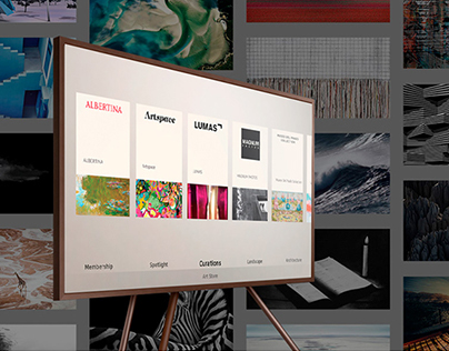 Samsung The Frame TV - Landing Page Product