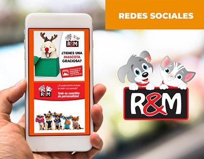 DISEÑO POST REDES SOCIALES: R&M VETERINARIA