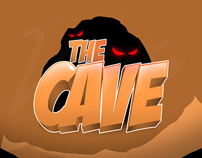 The Cave - Game Logo Design