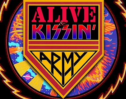 Alive N' KISSin' KISS Tribute Gig Posters