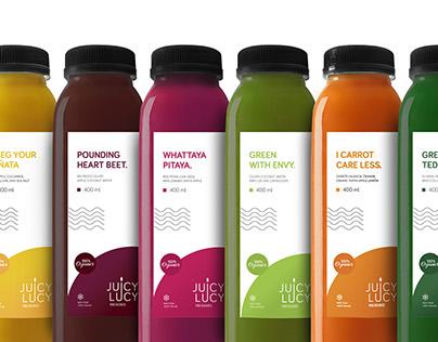 Juicy Lucy Presseries | Branding and Packaging