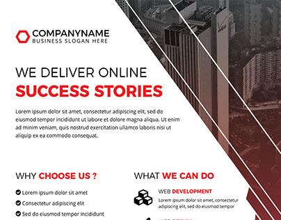 Digital Agency or Corporate Flyer