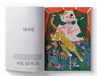 Vogue Polska Illustration