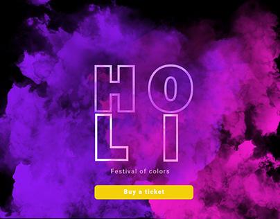 HOLI main page