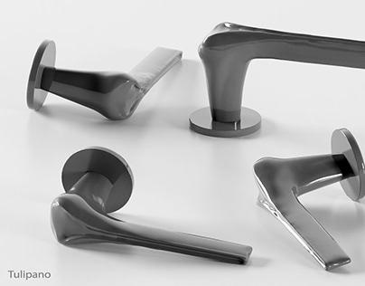 Tulipano - door handle concept