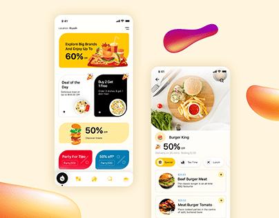 Chef Box - Food ordering app