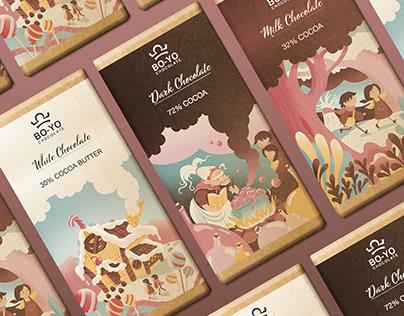 Hansel&Gretel Chocolate Packaging