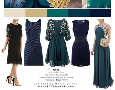 AW15 Party Wear Collection By Mahak