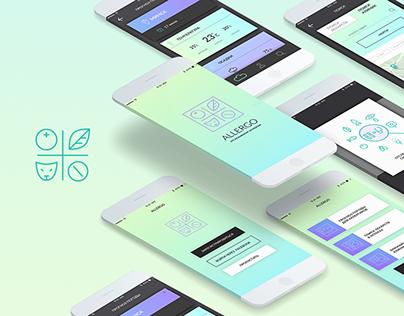 Allergy Tracker App | UI/UX Design
