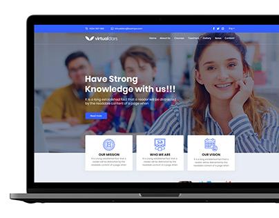 Website for Learning Center