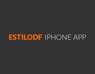 EstiloDF iPhone App