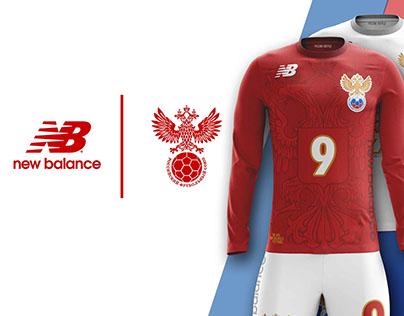 RUSSIA ✕ NEW BALANCE CONCEPT KITS SOCCER-FOOTBALL