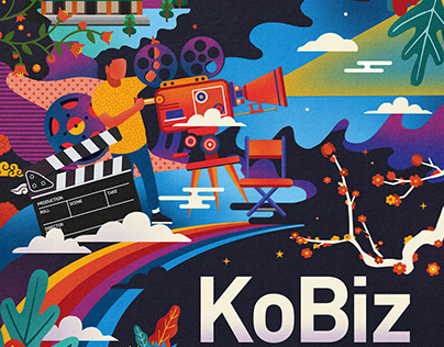 KoBiz Promotion Artwork With koreanfilm.or.kr