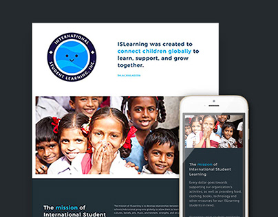 Website Design & Development for ISLearning