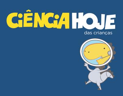 Redesign Ciência Hoje das Crianças