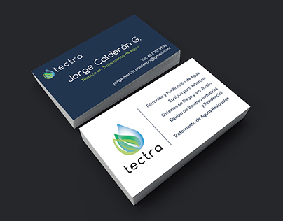 """Business Cards for """"tectra"""""""