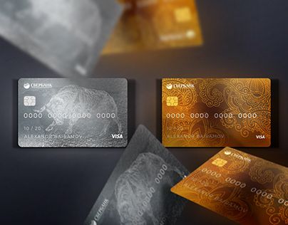 Design card Sberbank (Concept)