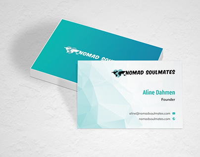 Nomad Soulmates Business Card