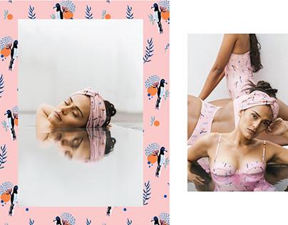 Textile Print Design - Maus Swimwear
