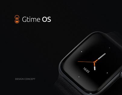 Gtime OS - UX/UI Smart Watch