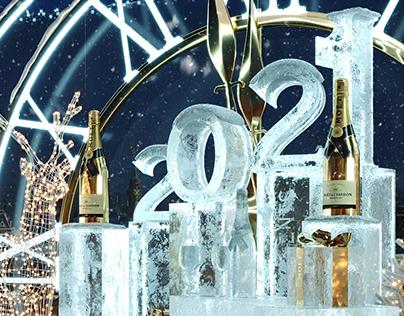 Moët&Chandon O2 LOUNGE The Ritz Carlton 2021