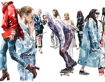 kasiq Fashion Illustration Series 5