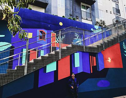Art District mural