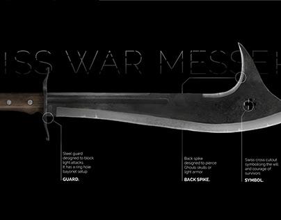 """""""Swiss War messer"""" concept art"""