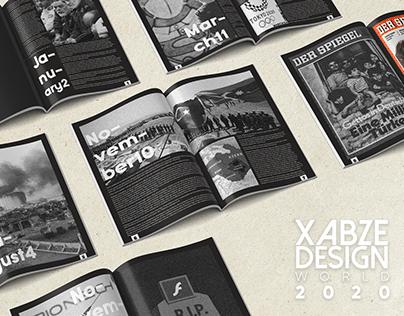 World 2020 - Magazine Design