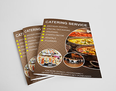 Food Flyer-Catering Service Flyer