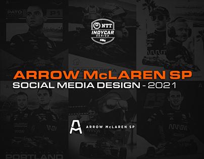 Social Media Design - Arrow McLaren SP - 2021