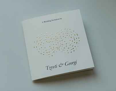 Wedding invites of Tzveti & Georgi