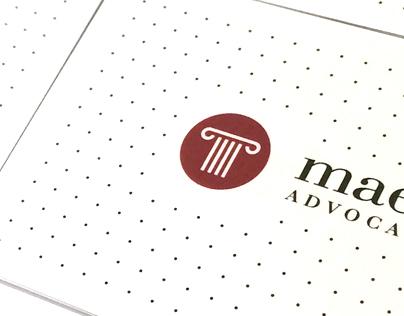 MAESO ADVOCAT corporate identity