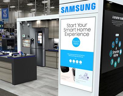 Samsung IoT Experience Retail Display