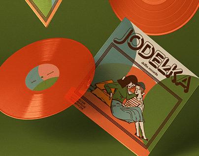 Jodełka / vinyl album / delfin records