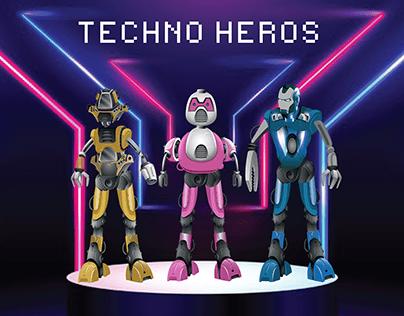 Techno Character Design