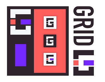 GRID Brand, Design, UI, UX, and Pitch Development