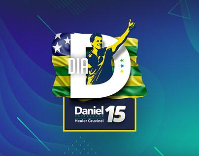 Campanha Política Daniel Governador