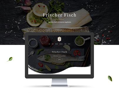 Frischer Fisch Web Design Concept