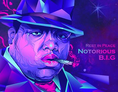 [Illustration] Tupac and Biggie Portrait