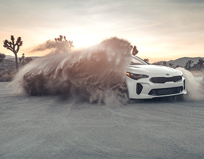 DIRTY KIA STINGER
