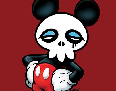 Skull Ed Taking the Mickey