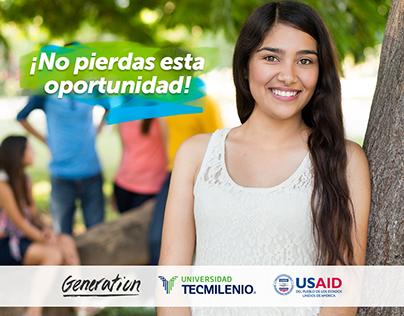 Generation México - Contenidos Redes Sociales