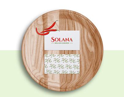 Solana Molhos - Identidade Visual
